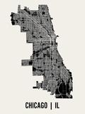 Chicago Affiche par  Mr City Printing