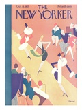 The New Yorker Cover - October 15, 1927 Premium Giclee Print by Theodore G. Haupt