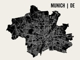 Munich Poster by  Mr City Printing