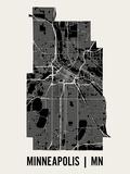 Minneapolis Art par  Mr City Printing