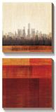 Metropolitan Jewel Box - Ruby Prints by  Amori
