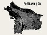 Portland Affiches par  Mr City Printing