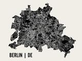 Berlin Poster von  Mr City Printing