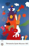 1972 Olympic Art Samlertryk af Otmar Alt