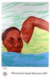 1972 Olympic Art (Series 2) Samlertryk af Ronald B. Kitaj