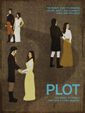Plot (Pride And Prejudice) - Element of a Novel Art by Christopher Rice