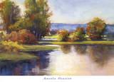 Lake View 1 Posters by Amanda Houston