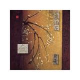 Oriental Blossoms II Lámina giclée por Don Li-Leger
