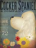 Cocker Spaniel & Co. Kunst von Stephen Fowler