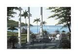 Caribbean Comfort Giclee Print by Bill Saunders