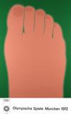 1972 Olympic Art (Series 2) Samlertryk af Tom Wesselmann