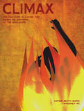 Climax (Fahrenheit 451) - Element of a Novel Poster por Christopher Rice