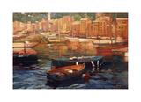 Anchored Boats, Portofino Impressão giclée por Philip Craig