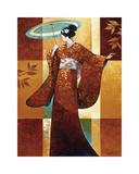 Misaki Impressão giclée por Keith Mallett