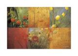 Citrus Garden Lámina giclée por Don Li-Leger