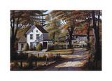 Rustling Leaves Gicléetryck av Bill Saunders
