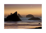 Moonset Giclee Print by Mike Jones