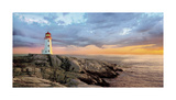 Storm Front Giclee Print by Mike Jones