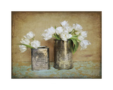 Vintage Tulips I Giclee Print by Cristin Atria