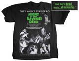 Night of the Living Dead - Movie Poster T-skjorter