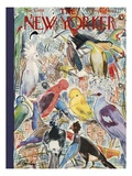 The New Yorker Cover - May 5, 1956 Giclée-Premiumdruck von Perry Barlow