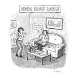 New Yorker Cartoon Premium Giclee Print by Roz Chast