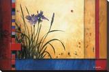 Summer Garden Opspændt lærredstryk af Don Li-Leger