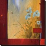 Le' Decouverte Du Jardin Reproducción de lámina sobre lienzo por Don Li-Leger