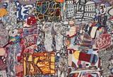 Théâtre de mémoire Poster par Jean Dubuffet