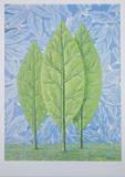 La belle saison Prints by Rene Magritte