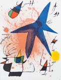 Litografia original I Keräilyvedos tekijänä Joan Miró