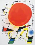 Litografia original III Keräilyvedos tekijänä Joan Miró