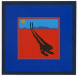 Falling Man Serigrafia por Ernest Trova