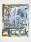 Les Pigeons Posters af Pablo Picasso