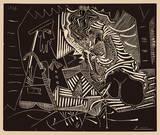 Luncheon on the grass Sammlerdrucke von Pablo Picasso