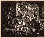 Luncheon on the grass Impressão colecionável por Pablo Picasso