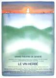 Le Vin Herbe Samlarprint av Jean Michel Folon