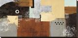 Enticing Bedruckte aufgespannte Leinwand von Nancy Villarreal Santos