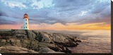 Storm Front Stretched Canvas Print by Mike Jones