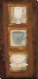 Tea Time Bedruckte aufgespannte Leinwand von Rita Vindedzis