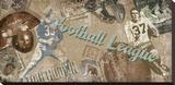 Touch Down Trykk på strukket lerret av Tandi Venter