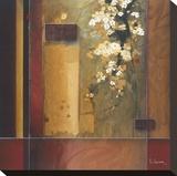 Summer Bloom Opspændt lærredstryk af Don Li-Leger