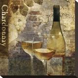 Chardonnay Trykk på strukket lerret av Keith Mallett