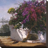 Menorca Home Stretched Canvas Print by Poch Romeu