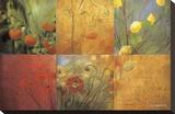 Citrus Garden Opspændt lærredstryk af Don Li-Leger