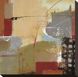 Emociones II Bedruckte aufgespannte Leinwand von Nancy Villarreal Santos