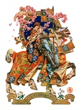 """Knight in Shining Armor,""July 17, 1926 Giclee Print by Joseph Christian Leyendecker"