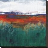 Sundown Stretched Canvas Print by Leslie Bernsen