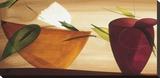 Flores Frescas II Stretched Canvas Print by Lola Abellan