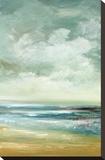 By The Sea Reproducción de lámina sobre lienzo por Cat Tesla